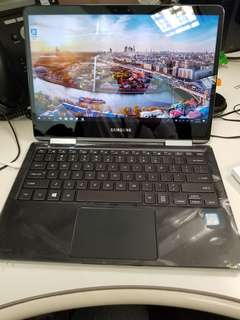 99% new Samsung notebook 9 pro(可flip) 13.3 with s Pen i7 7th gen