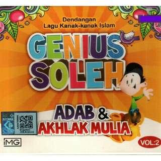 Genius Soleh Adab & Akhlak Mulia Vol.2 CD