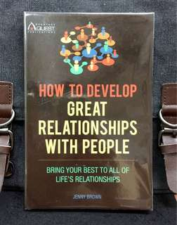 《Bran-New + How To Grow Yourself Up》Jenny Brown - HOW TO DEVELOP GREAT RELATIONSHIPS WITH PEOPLE : Bring Your Best to All of Life's Relationships