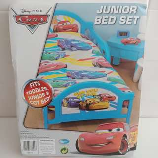 DISNEY PIXAR CARS - toddler, junior or cot bed