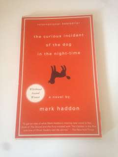 Preloved Books: The Curious Incident Of The Dog In The Night-Time