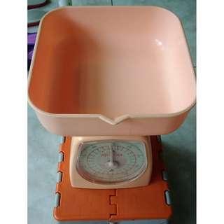 🚚 HILAYOKA 料理秤 1公斤 1KG 磅秤 非電子秤 點心