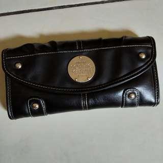 Dompet kulit sophie martin hitam