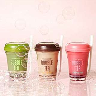 [ORIGINAL] ETUDE HOUSE - Bubble Tea Sleeping Pack 100gr