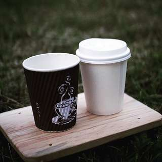 Paper cup 100pcs printing coffee 8 oz