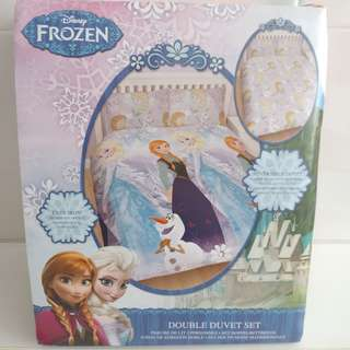 FROZEN REVERSIBLE DOUBLE DUVET SET
