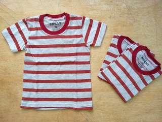 Kaos Anak Motif Garis