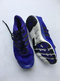 Adidas blue rubber shoes