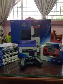 PS4 Full Set (500GB)