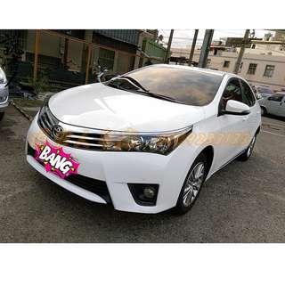 2014年 ALTIS 白色 E //職軍低利//青年首購//原住民優惠//小資輕鬆繳//車換車
