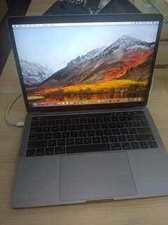 Macbook pro touchbar 13inch kredit proses 3 menit