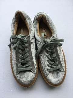 Public desire velvet sneakers