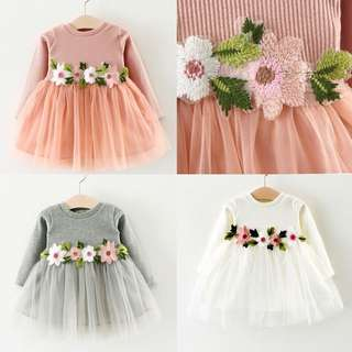 DRESS FLOWER ~READY STOK~