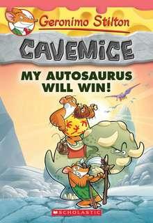 (BN) Geronimo Stilton Cavemice #10 My Autosaurus Will Win!