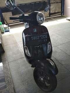 Motor vespa matic
