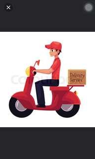 Ad hoc delivery rider despatch