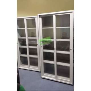 5 LAYER GLASS SLIDING DOOR CABINET ADJUSTABLE LAYER--KHOMI