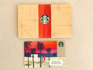 Starbucks card Limited edition