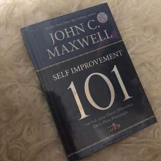 Self improvement 101. John C Maxwell