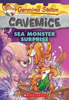 (BN) Geronimo Stilton Cavemice #11 Sea Monster Surprise