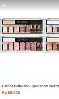 Catrice eyeshadow pallete NUDE