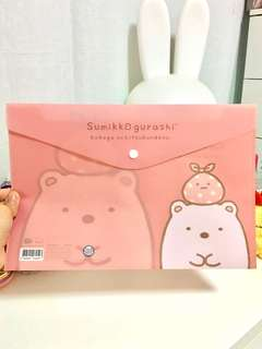 Sumikko Gurashi File Folder - Shirokuma