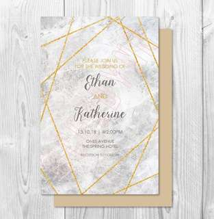 Invitation Card Customisation - 23