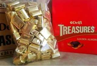 Coklat treasure promo harga per 1/2 kg