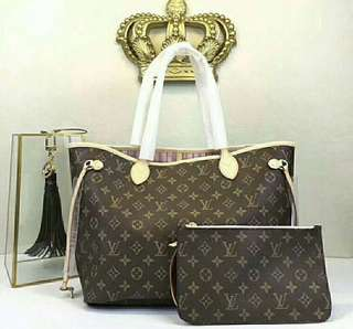 Louis Vuitton Neverfull MM style