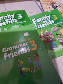 OXFORD Family and friends classbook 3 / workbook 3 /grammar friends 3
