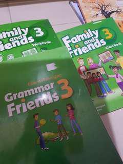 OXFORD Family and friends classbook 3 / workbook 3 /grammar friends 3