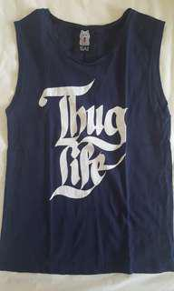 🚚 O MIGHTY MUSCLE TANK ''THUG LIFE''