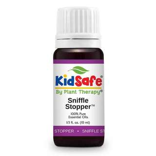 Plant Therapy Sniffle Stopper KidSafe Essential Oil 10 mL