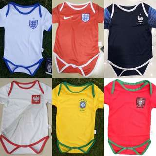 2018 World Cup Baby Shirts