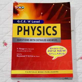 A Level H2 Physics Assessment Book