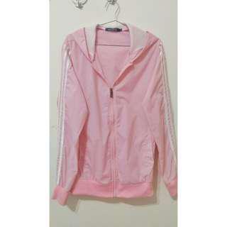 🚚 粉紅色風衣外套【再降價!!!】#女裝88