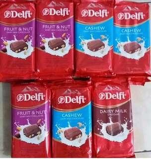 Coklat besar Delfi dan Vanhouten promo harga