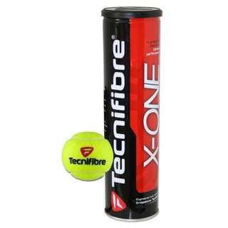 GV  Tecnifibre X One 3 Tennis Balls per tube