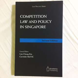 BN Competition Law and Policy in Singapore