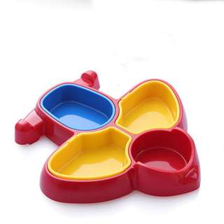 (Infant Tableware) Aircraft Shape Cute Baby / Toddler Feeding Plate