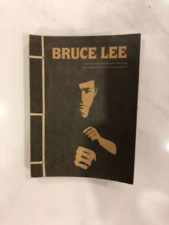 Notebook Bruce lee