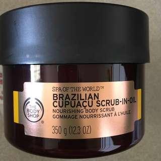 The Bodyshop Brazilian Scrub In Oil Body Scrub 350ml