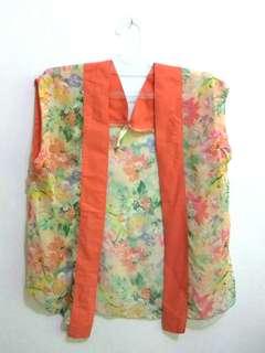 Outer semi kimono