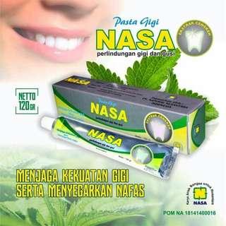 Pasta Gigi NASA ORIGINAL BPOM / ODOL NASA PEMUTIH GIGI