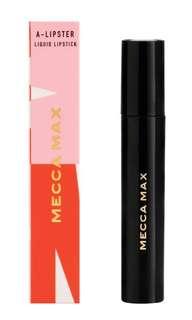 Mecca max red liquid lipstick and lip mask