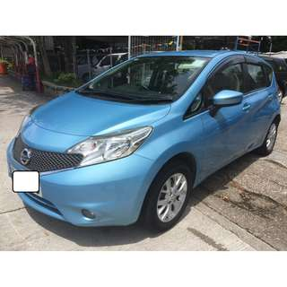 2015 NISSAN NOTE DIGS GREEN 1.2 自動波