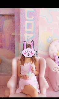 Pastel Pink Mermaid Dress