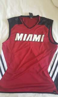 MIAMI HEATS REVERISIBLE TRAINING JERSEY