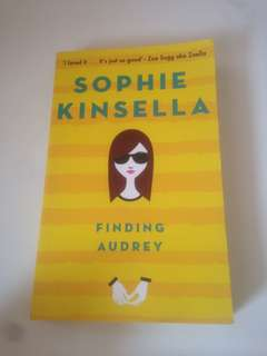 Preloved books: finding audrey