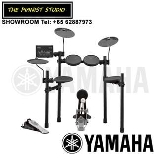 [NEW MODEL!] THE PIANIST STUDIO | Yamaha DTX Electronic Drum DTX452K Singapore Sale